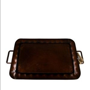 Jan barboglio footed tray iron collection